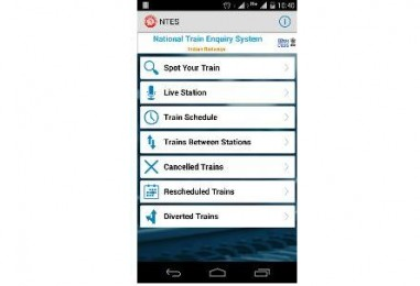 Indian Railways' enquiry app now on Android