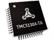 Trinamic stepper motion control IC with integrated motor drive delivers 50V / 2A performance