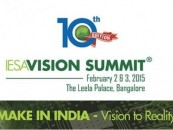IESA Vision Summit 2015 will focus on 'Make in India'