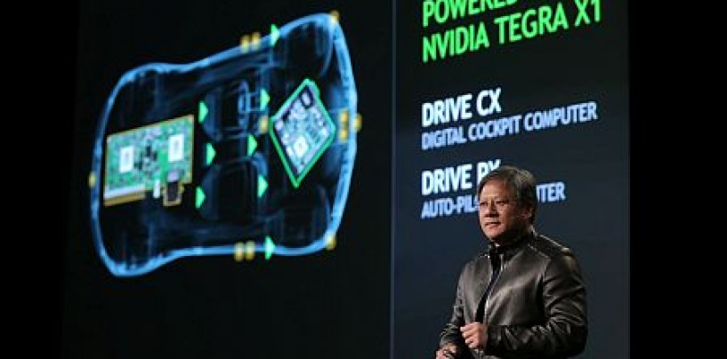 NVIDIA unveils automotive computers for self-driving cars of tomorrow