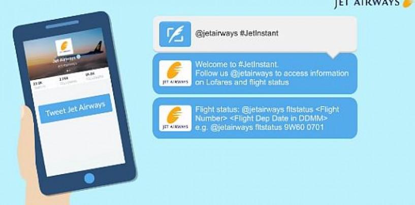 Jet Airways flight status and alerts now just a tweet away