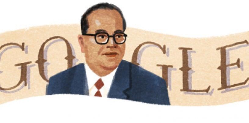 Google's Doodle For Dr BR Ambedkar