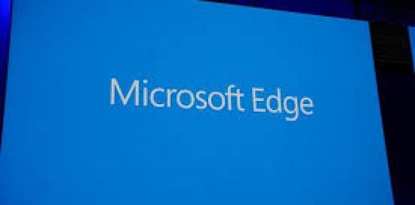 Microsoft Edge to replace Internet Explorer
