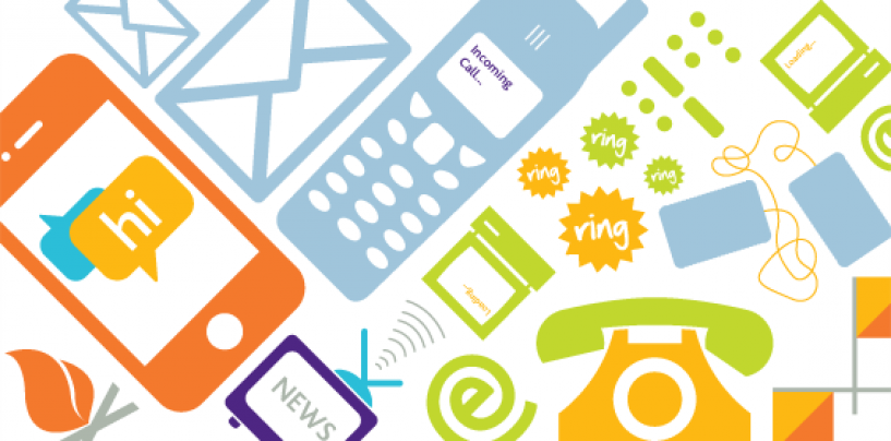 Integrate voice, video, text, email and mobility into biz apps