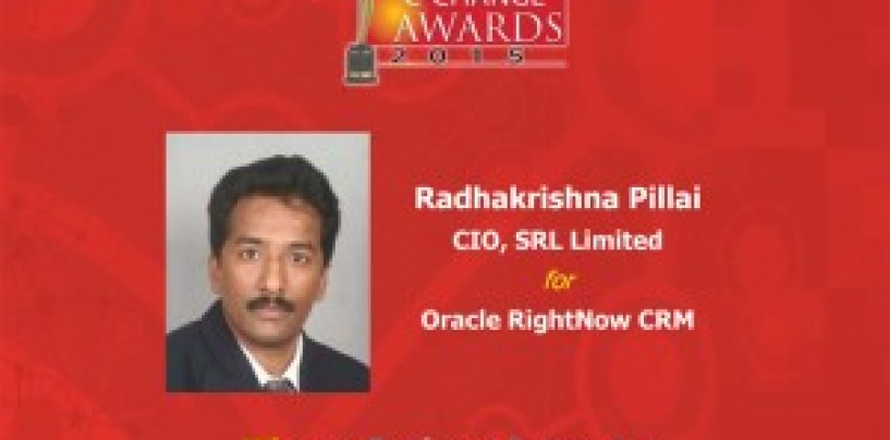 G Radhakrishna Pillai, an ace in solving business problems with Information Technology