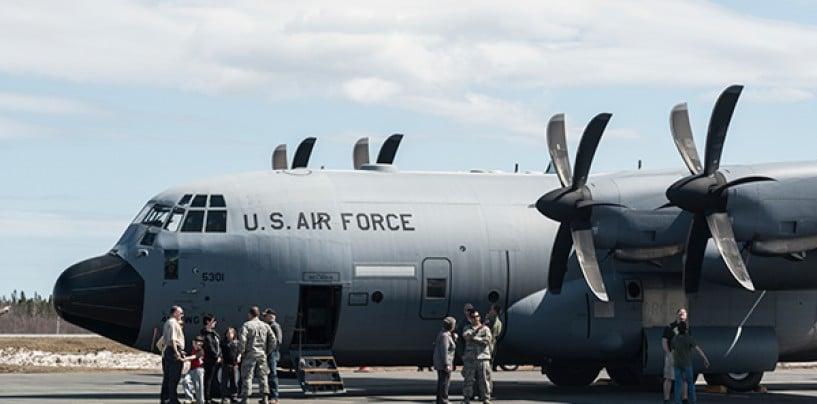 Cloudburst at the US Air Force