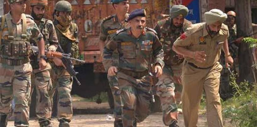 GPS tracks the source of Gurdaspur firing, to Pakistan