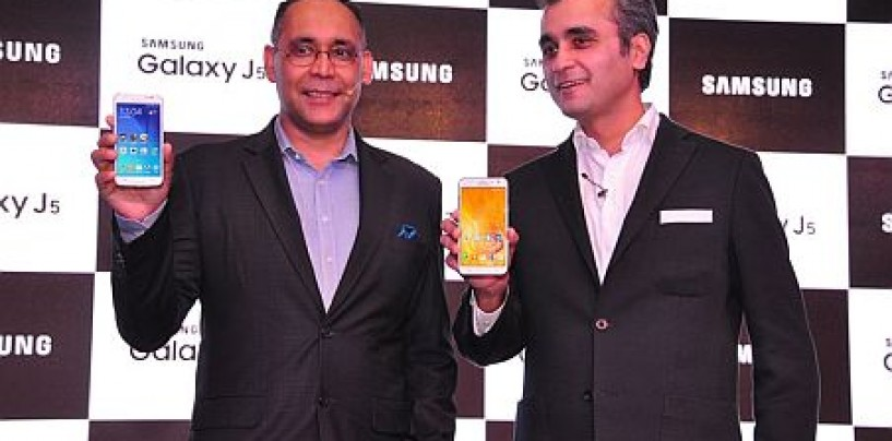 Samsung launches mid-range 4G Galaxy devices, J5 and J7