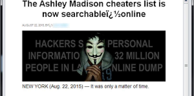3 ways to protect your PCs from Ashley Madison spam mails