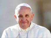 Who supported the Pope in Philadelphia?
