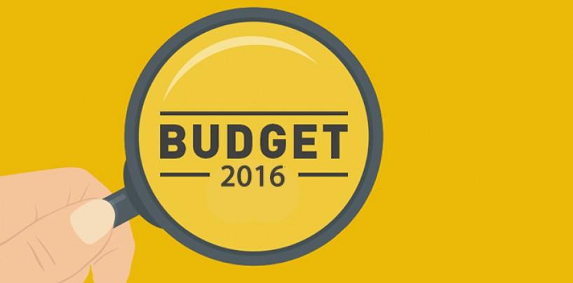 BUDGET 2016 – PRO START-UPS