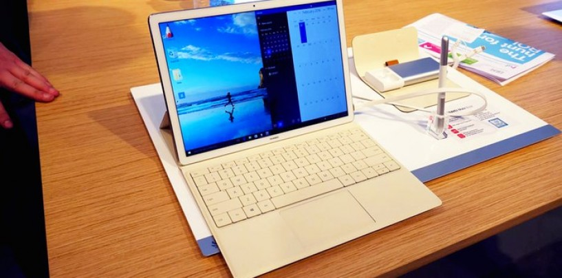 MWC16: Here Comes The 2-in-1 MateBook by Huawei