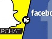 Snapchat vs Facebook: rivalry of two social media giants