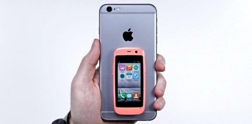 World's tiniest smartphone: Posh Mobile Micro X S240
