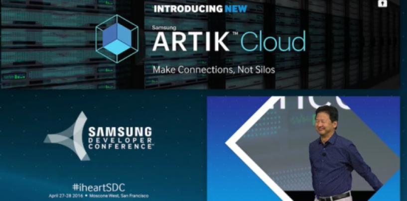 Samsung launches Artik cloud service