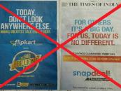 No more Big Bang Sales from e-tailers