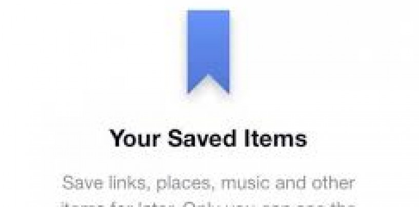 Facebook's save button now available on the Web