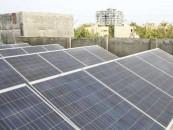 Bacteria-powered solar panel