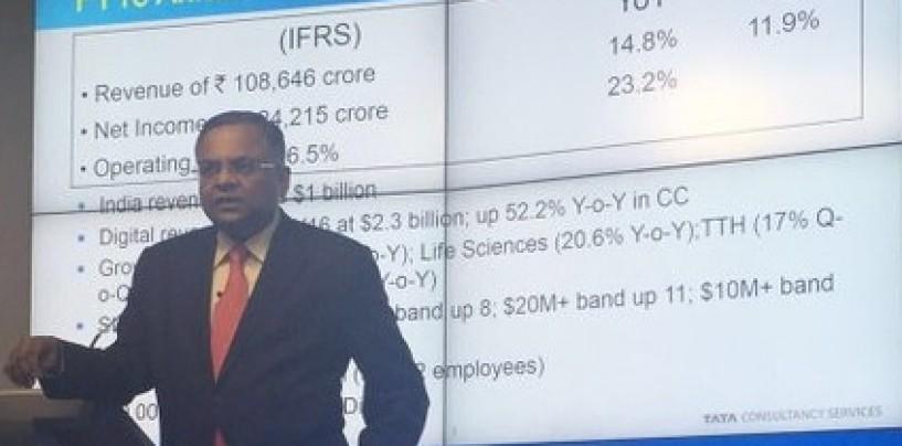 TCS Q4 net profit beats expectation marginally with 3.8pc rise