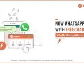 Freecharge on WhatsApp