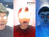 X-Men in your Snapchat lense