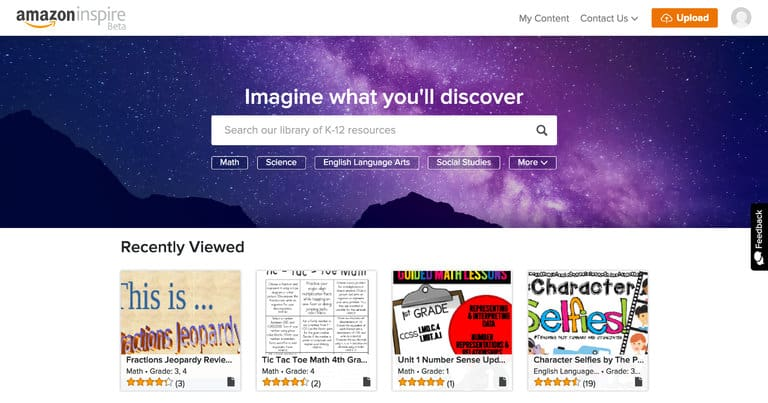 CIOL Amazon launches Inspire, a free online education resources (OER) platform