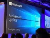 Windows 10 Anniversary Update coming on August 2