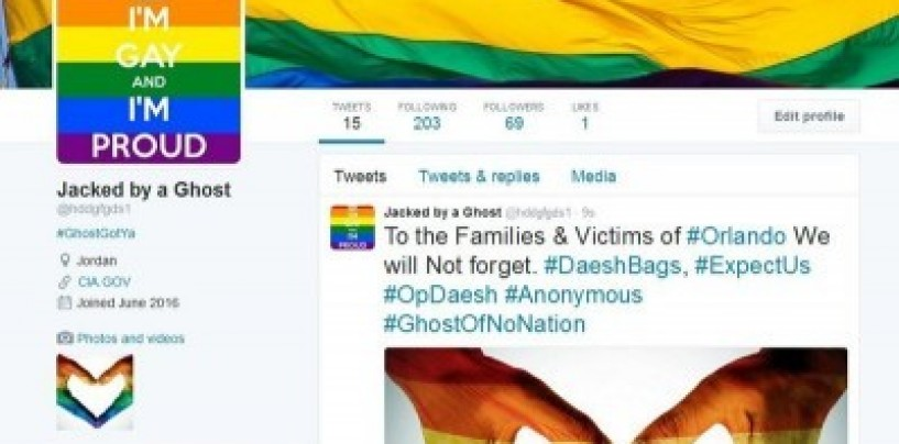 ISIS Twitter accounts get LGBT makeover by hackers