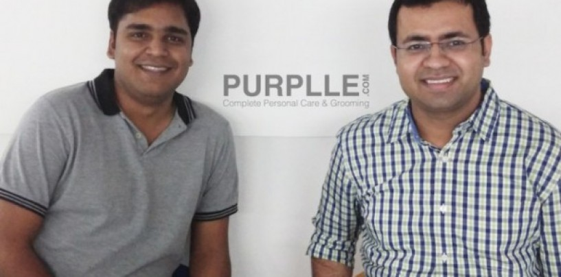 A streak of purplle light for other startups