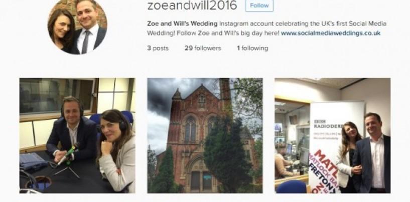 "UK's first ""official"" social media wedding"