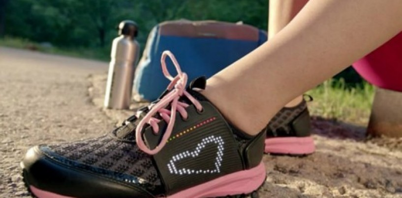 Smart shoes from Lenovo that tracks your fitness