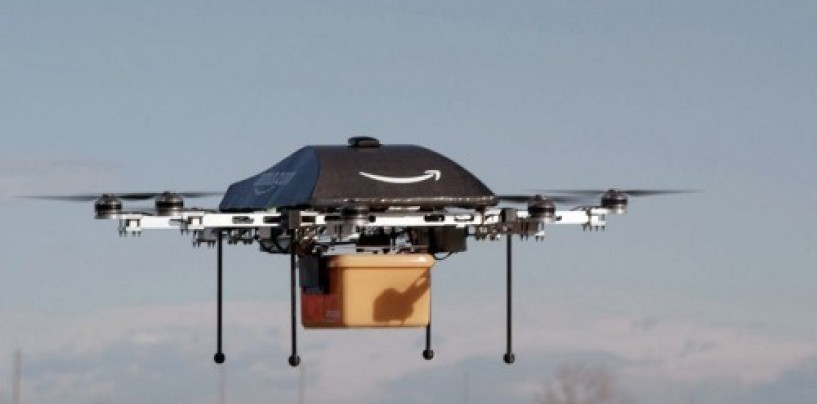 Amazon partners with the UK to test drone delivery