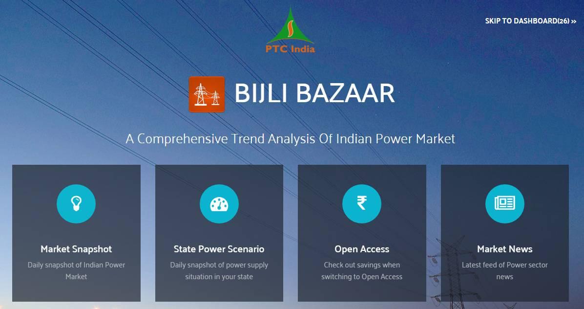 PTC's mobile apps for power traders: Bijli Bazaar & Bijli