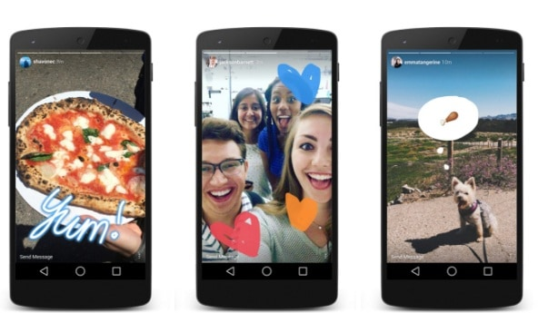 CIOL Instagram 'Stories'- Facebook copies Snapchat again