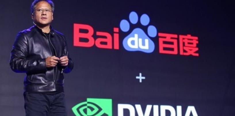 Nvidia and Baidu partner to build an autonomous driving platform