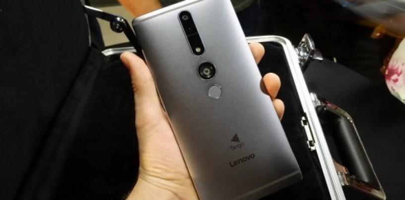 Lenovo's Tango-integrated Phab 2 Pro gets delayed