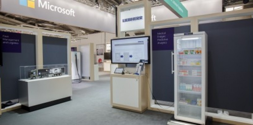 Microsoft's 'smart' fridge comes with a dash of Artificial Intelligence