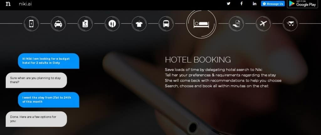 CIOL  now bots will help you book OYO rooms