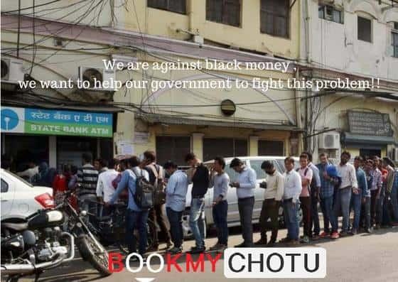 Book my chotu run errands for ATM queues