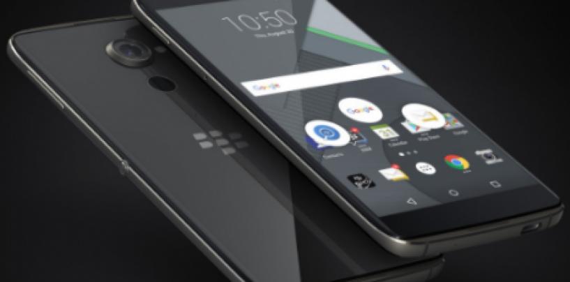 Blackberry back with two new Android smartphones, DTEK50 & DTEK60