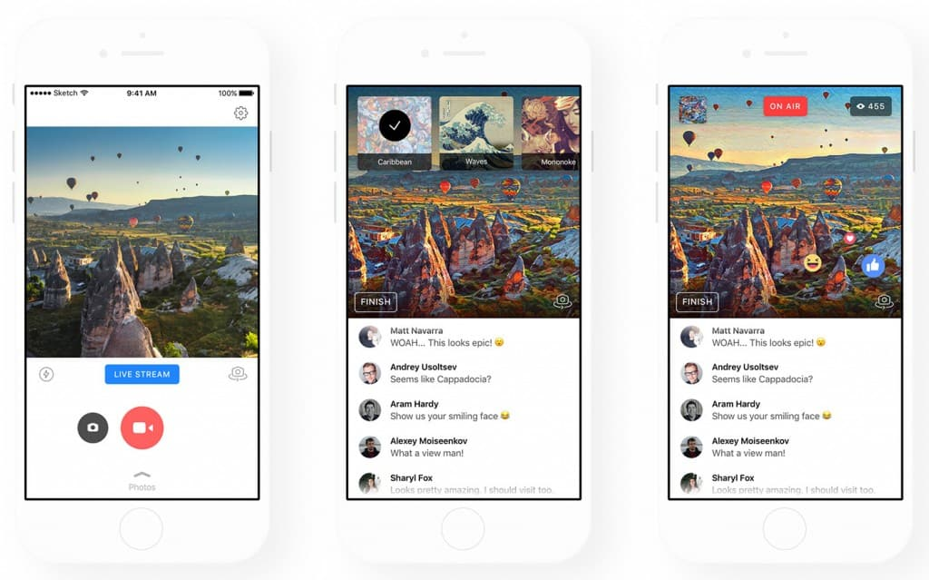 CIOL Now you can broadcast via Facebook with Prisma's artistic filters