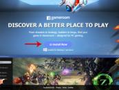 Entering Facebook's PC gaming platform: Gameroom