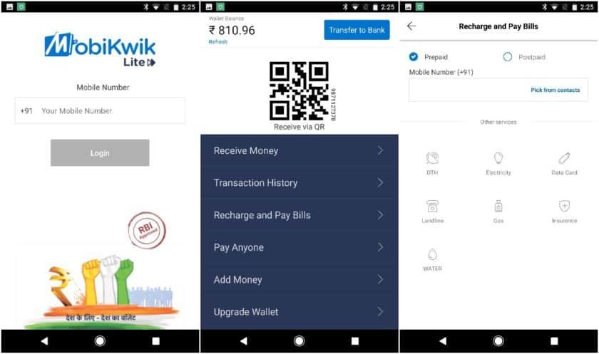 CIOL Mobikwik announces Mobikwik Lite for slow connectivity