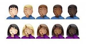 CIOL facepalm apple emoji