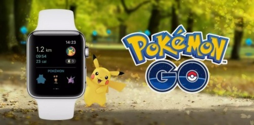 Pokemon Go has finally made its way into Apple Watch
