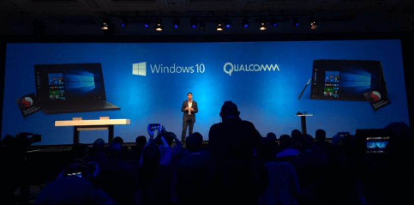 Microsoft to bring Windows 10 for PC to mobile ARM processors in 2017