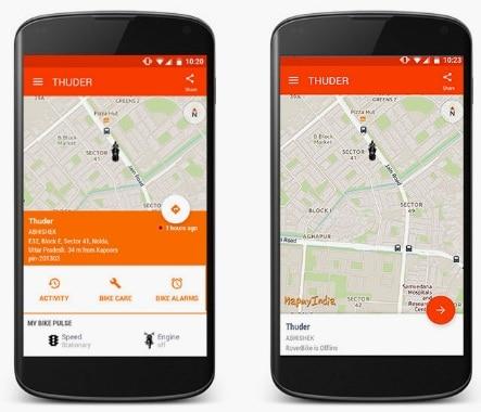 CIOL MapmyIndia launches a GPS tracker for bikes- 'Rover Bike'