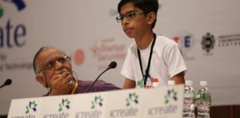 14yr old, Harshwardhan Zala signs Rs 5cr MoU with the Gujarat govt