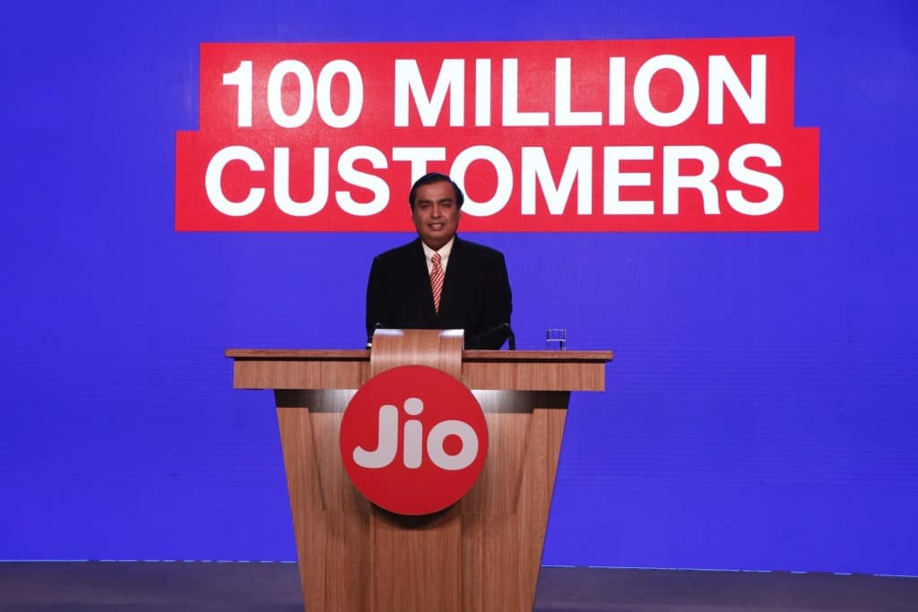 CIOL Another feat for Reliance Jio: 100mn subscribers already