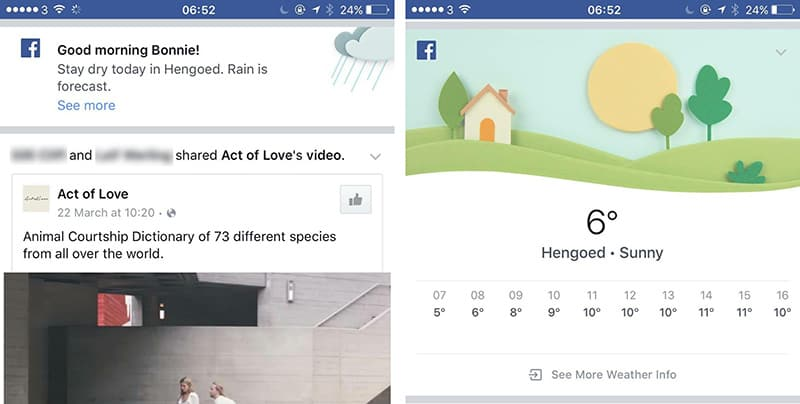 CIOL Say hello to your new weather app, Facebook